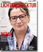 LUXLUMINA LICHTARCHITEKTUR #7-eMagazin Ausgabe November 2020