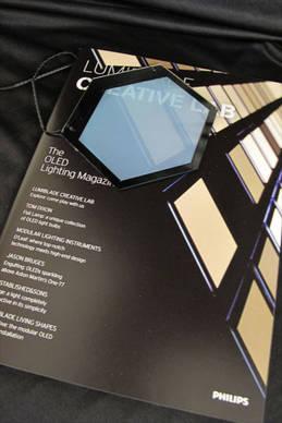 oled beleuchtung f r durchsichtiges autodach on light licht im netz. Black Bedroom Furniture Sets. Home Design Ideas