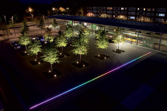 umgestaltung des buschmannshof herne on light licht im netz. Black Bedroom Furniture Sets. Home Design Ideas