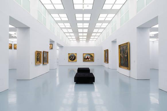 led technik f r 2000 lichtfelder im kunstpalast on light licht im netz. Black Bedroom Furniture Sets. Home Design Ideas