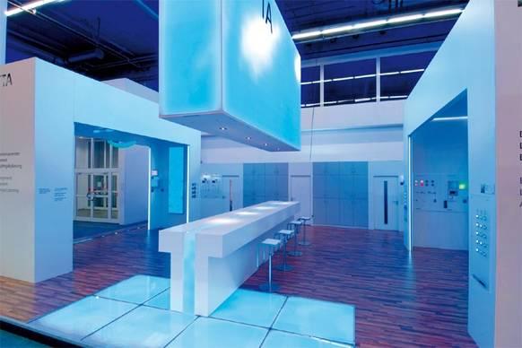 exhibit design award 2011 on light licht im netz. Black Bedroom Furniture Sets. Home Design Ideas