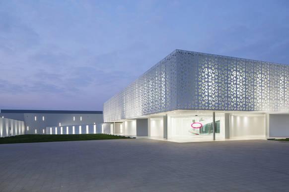 Osram Led Beleuchtung Unterstreicht Die Einzigartige Architektur Der
