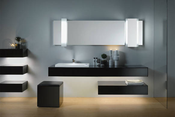 sanft leuchtende badm bel on light licht im netz. Black Bedroom Furniture Sets. Home Design Ideas