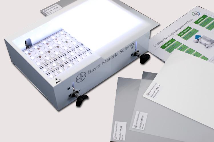Led Lampen Folie : Intelligente lösungen mit platten und folien on light · licht im