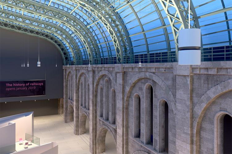 Erco Atrium Doppelfokus Differenzierte Lichtkonzepte Fur Hohe