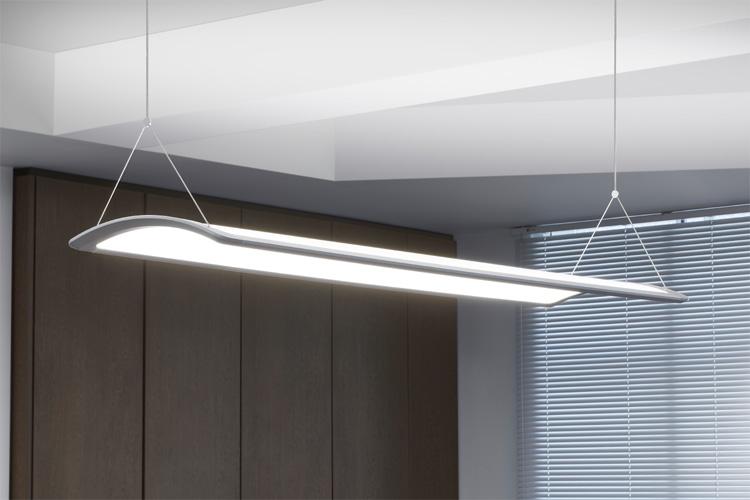 Concord curvelyte led u2013 design bis in die letzte kurve: on light