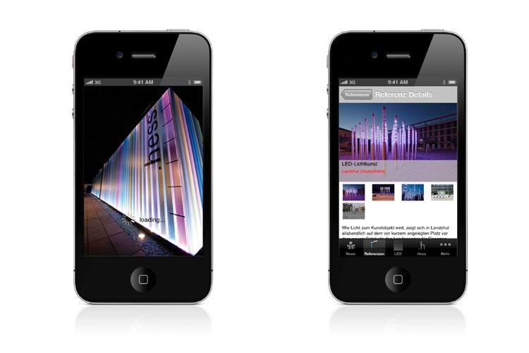 aktuelle au enlichtl sungen per app abrufbar on light licht im netz. Black Bedroom Furniture Sets. Home Design Ideas