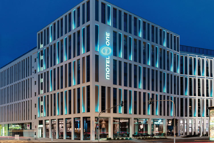 Motel One In Barcelona