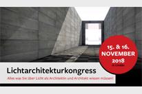 Lichtarchitektur Magazin lädt ein zum Jahreskongress 2018 - 15. und 16. November in der neuen Inselhalle in Lindau [Bild: Luxlumina Verlag]