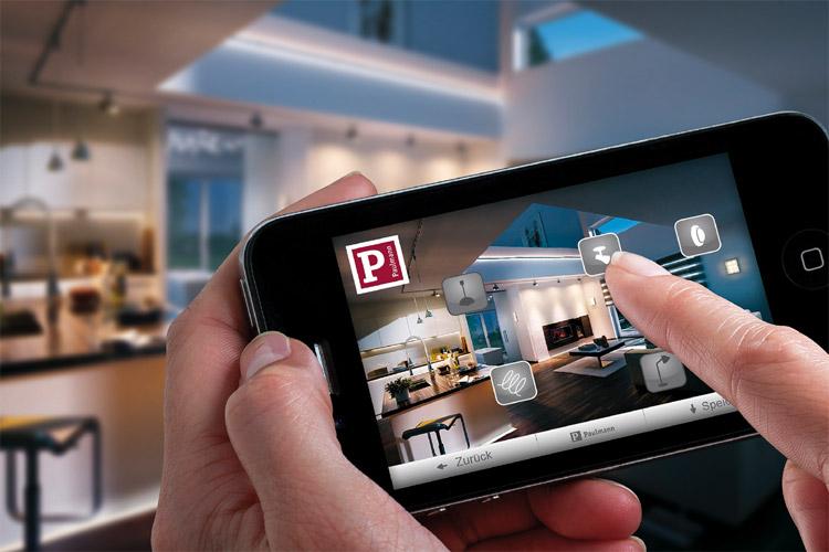 komfortable lichtsteuerung mit wlan app f r zuhause on. Black Bedroom Furniture Sets. Home Design Ideas