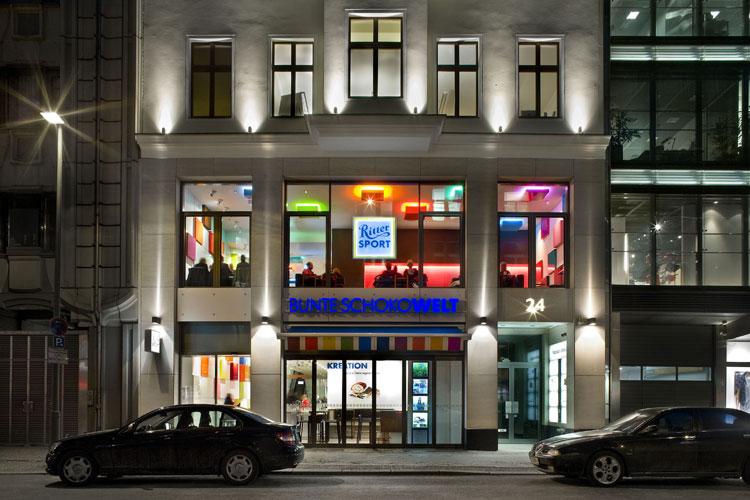 ritter sport er ffnet die bunte schokowelt in berlin on light licht im netz version 4 2. Black Bedroom Furniture Sets. Home Design Ideas