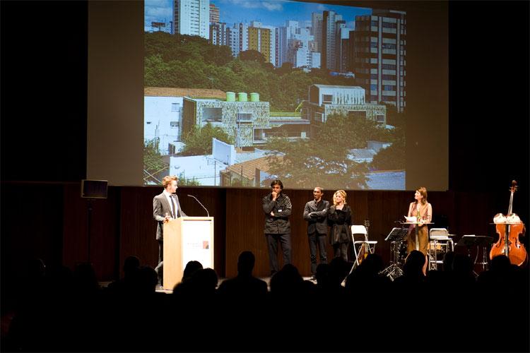 feierliche verleihung des zweiten zumtobel group award in. Black Bedroom Furniture Sets. Home Design Ideas